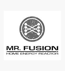 back to the Future - Mr Fusion Photographic Print