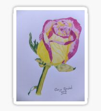 Rosebud Sticker