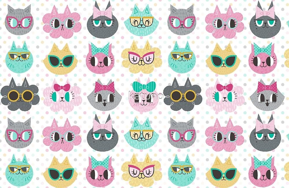 Pretty Kitties by katuno