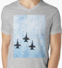 Jets Mens V-Neck T-Shirt