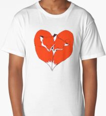 Foxes Mate for Life Long T-Shirt