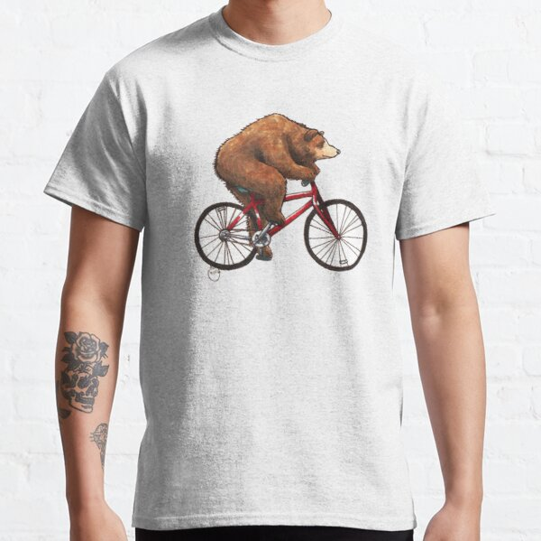 Bear on a Bike Classic T-Shirt