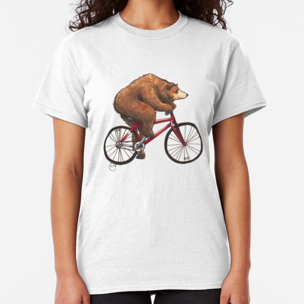 Bear on a Bike Classic T-Shirt