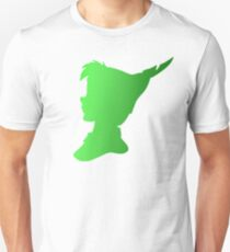 Peter Pan Ombre Silhouette  Unisex T-Shirt