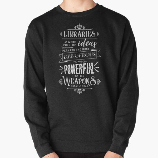 Libraries Pullover Sweatshirt