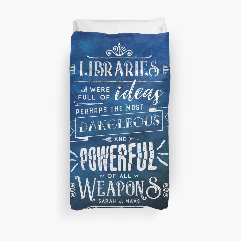 Libraries Duvet Cover