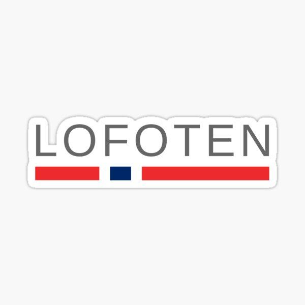 Lofoten Norway Sticker