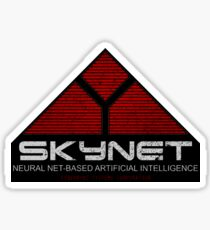 The Terminator - Skynet Sticker