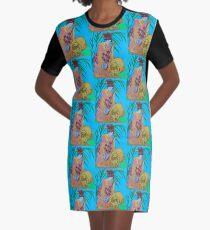 Shamisen: Three Strings  Graphic T-Shirt Dress