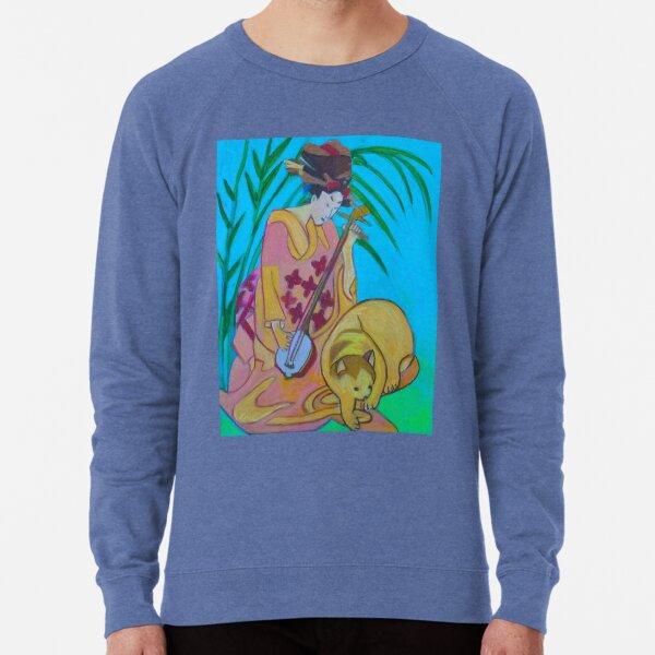 Shamisen: Three Strings  Lightweight Sweatshirt