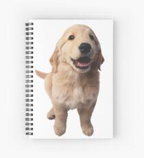 Puppy! Retriever! Spiral Notebook