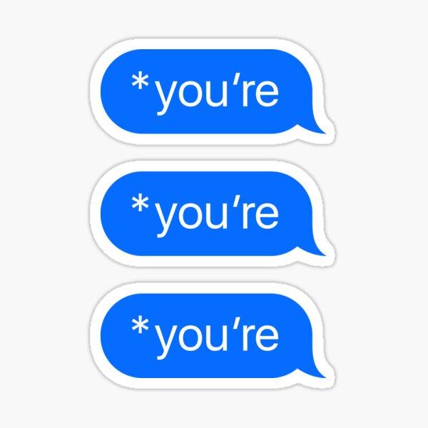*du bist Sticker