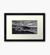 Fall To The Sea Framed Print