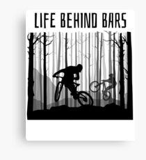 MTB MOUNTAIN BIKE T-Shirt BIKING Shirt BMX Jersey GREAT GIFT Canvas Print