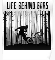 MTB MOUNTAIN BIKE T-Shirt BIKING Shirt BMX Jersey GREAT GIFT Poster