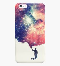 Painting the universe (Colorful Negative Space Art) iPhone 6s Plus Case
