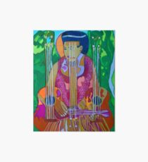 Ukulele: Four Strings  Art Board