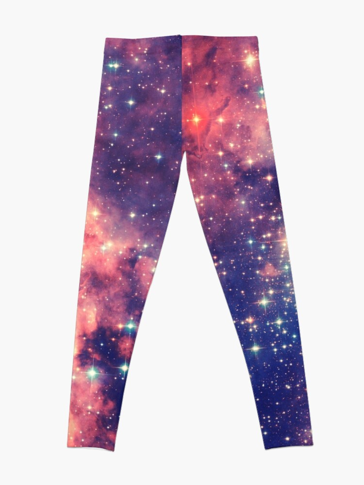 Alternative Ansicht von Painting the universe (Colorful Negative Space Art) Leggings