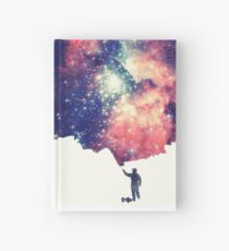 Painting the universe (Colorful Negative Space Art) Notizbuch