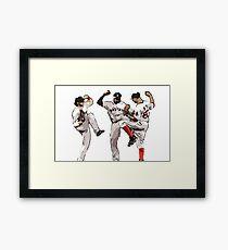 Win Dance Repeat  Framed Print