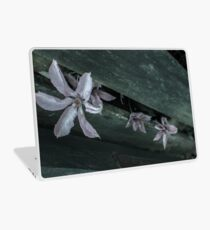 Flowers through a Fence 1 Laptop Skin