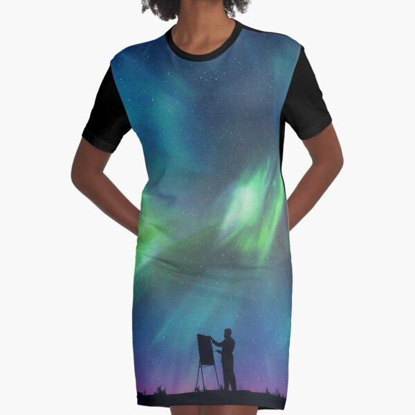 Pintor boreal Vestido camiseta