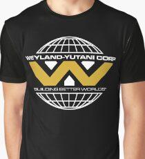 The Weyland-Yutani Corporation Globe - Clean Graphic T-Shirt