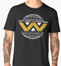 The Weyland-Yutani Corporation Globe - Clean Men's Premium T-Shirt