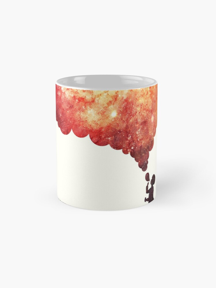Alternate view of The universe in a soap-bubble! Mug