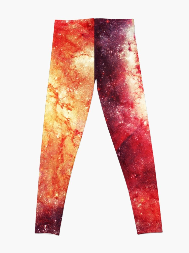Alternate view of The universe in a soap-bubble! Leggings