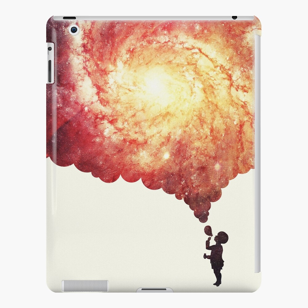The universe in a soap-bubble! iPad Case & Skin