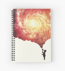 The universe in a soap-bubble! Spiral Notebook