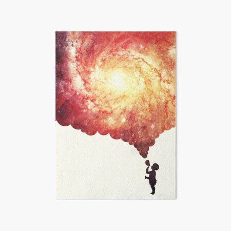 The universe in a soap-bubble! Art Board Print