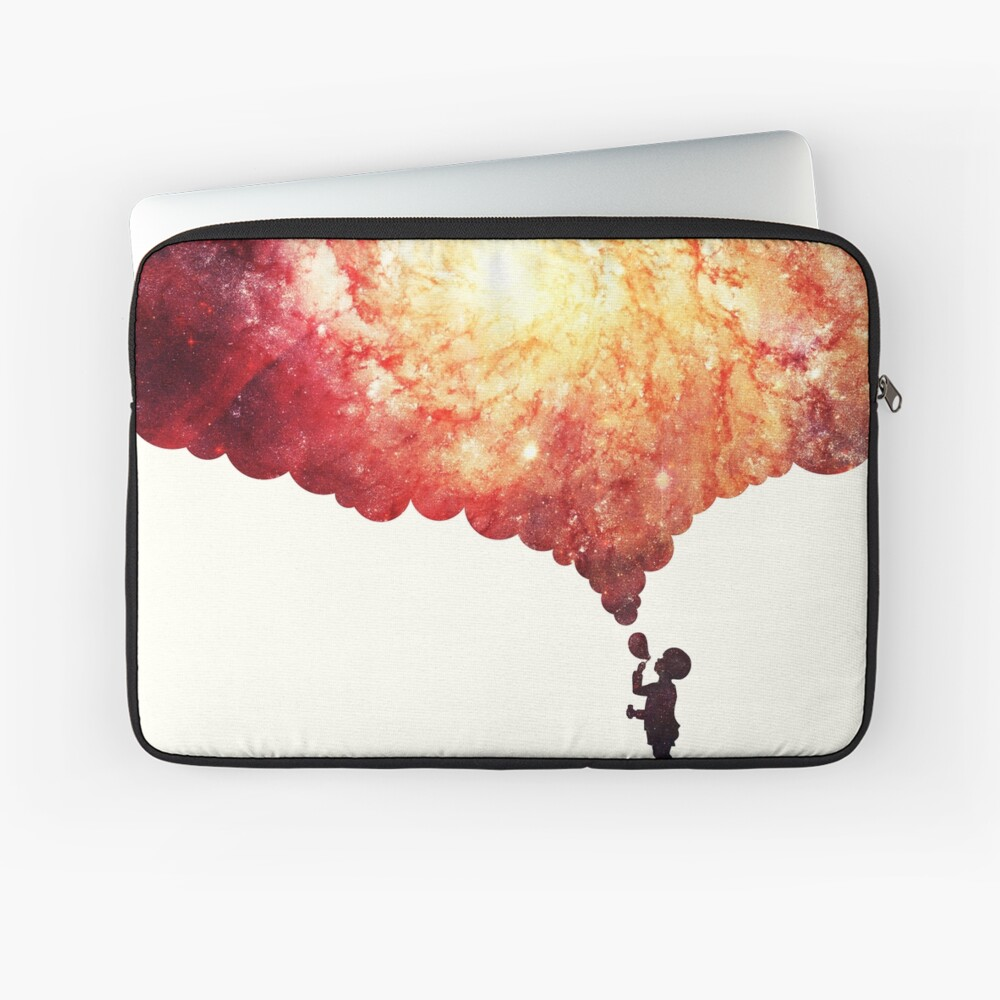 The universe in a soap-bubble! Laptop Sleeve