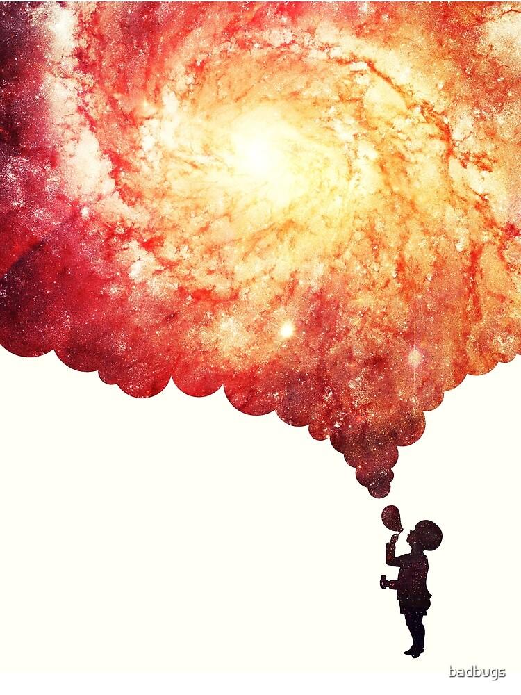 The universe in a soap-bubble! von badbugs