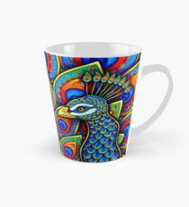 Colorful Paisley Peacock Bird Tall Mug