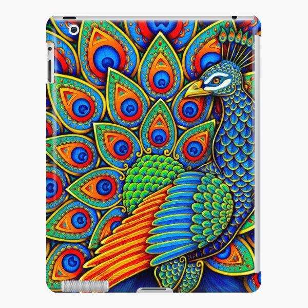 Colorful Paisley Peacock Rainbow Bird iPad Snap Case