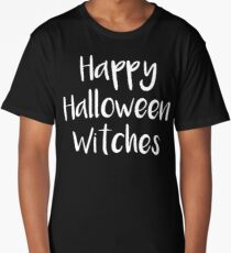 Happy Halloween Witches Long T-Shirt