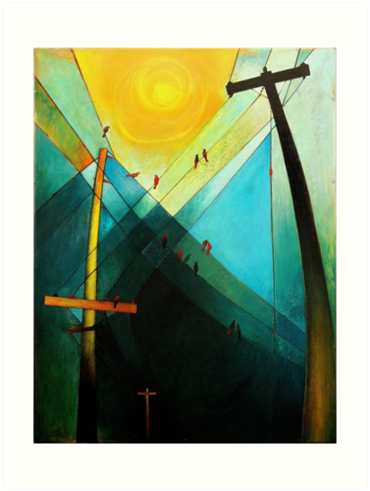 Earth Bound Power #7 (The Son is Risen) by Carin Fausett