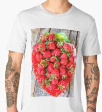 Bol de fraises Men's Premium T-Shirt