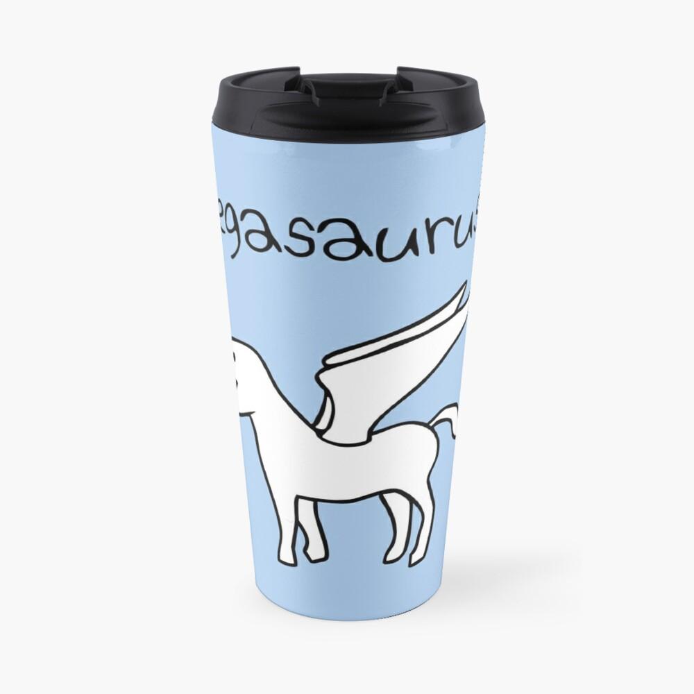 Pegasaurus (Pegasus T-Rex) Travel Mug