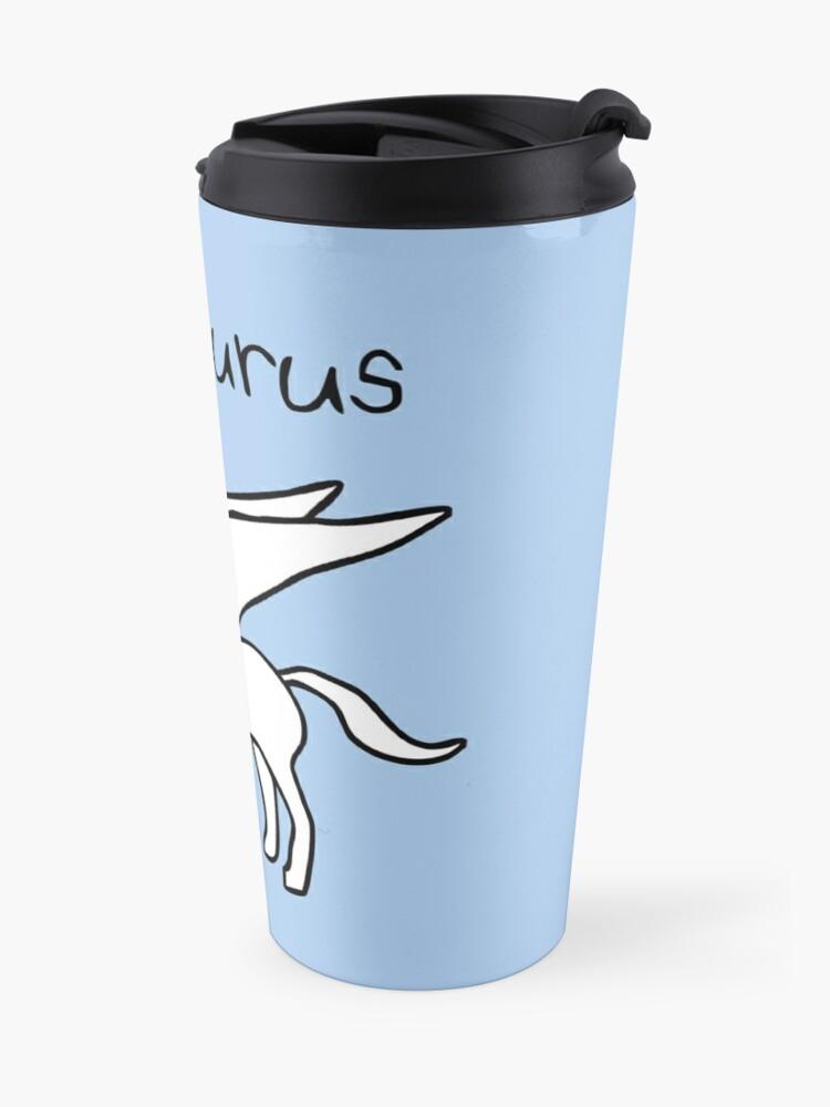 Alternate view of Pegasaurus (Pegasus T-Rex) Travel Mug