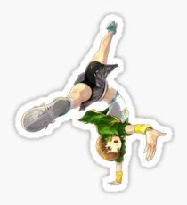 Chie Satonaka Persona 4 DAN Sticker