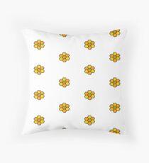 honeycombs Throw Pillow