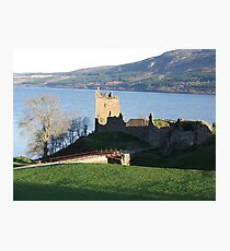 Urquhart castle Photographic Print