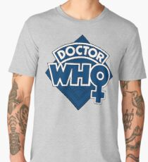 Classic Doctor Who Female Doctor Logo - 13th Doctor - Jodie Whittaker Men's Premium T-Shirt