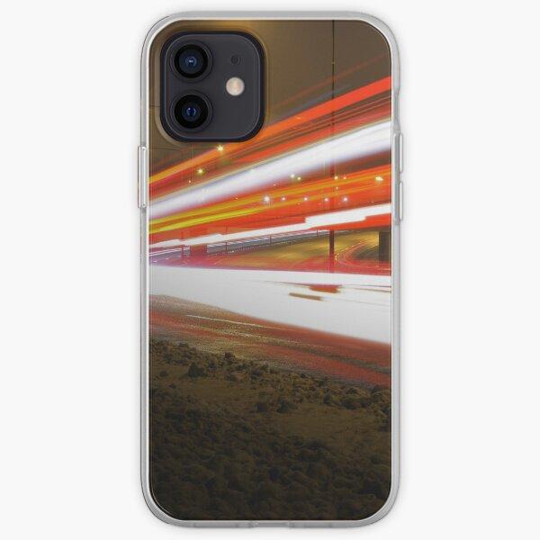 Highway Light Streaks Mayhem (E18) iPhone Soft Case