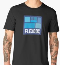 CSS Flexbox Men's Premium T-Shirt