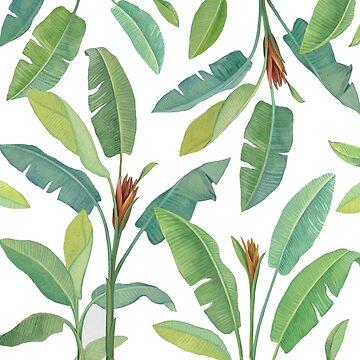 Banana leaves & tropics by anushka777