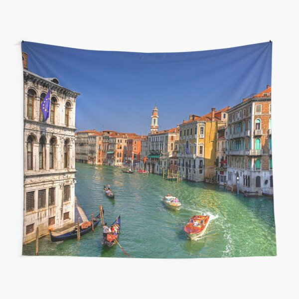 Light Traffic on the Grand Canal Tapestry